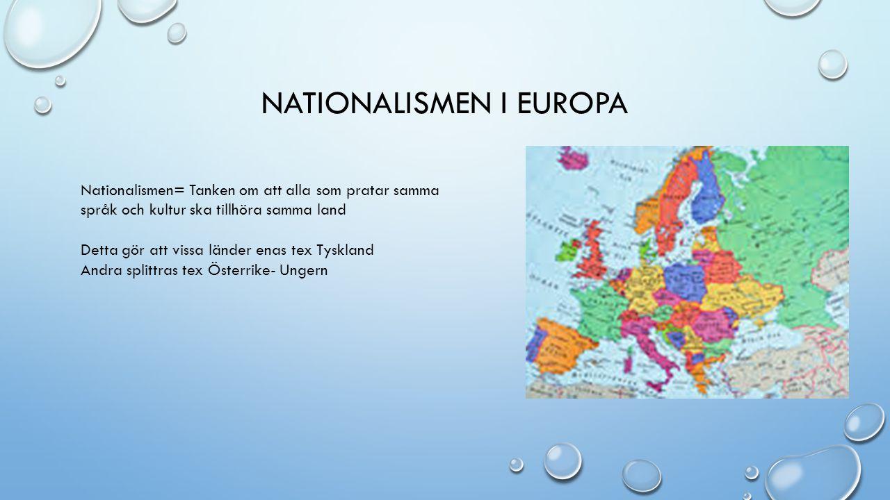 Nationalismen i europa