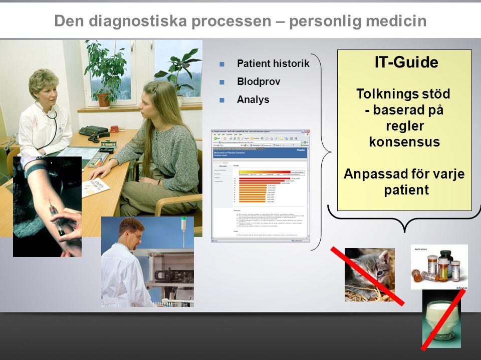 Den diagnostiska processen – personlig medicin