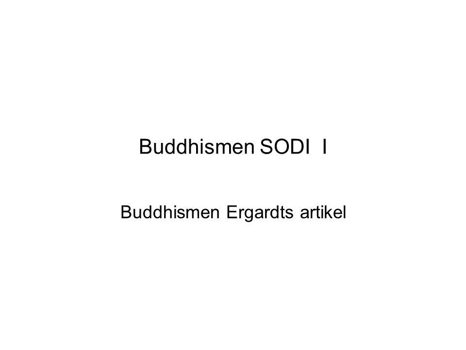 Buddhismen Ergardts artikel
