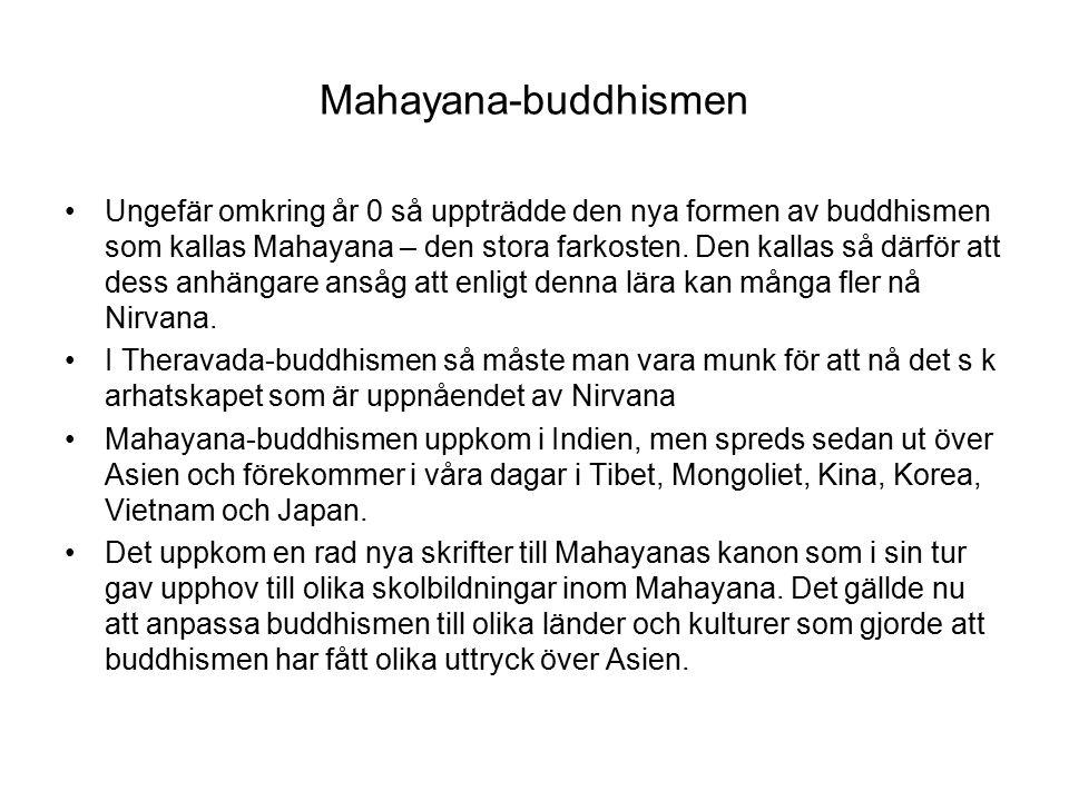 Mahayana-buddhismen