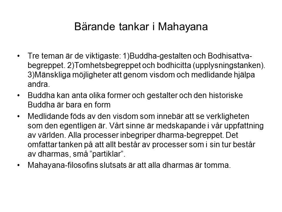 Bärande tankar i Mahayana