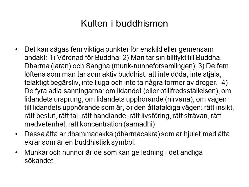 Kulten i buddhismen