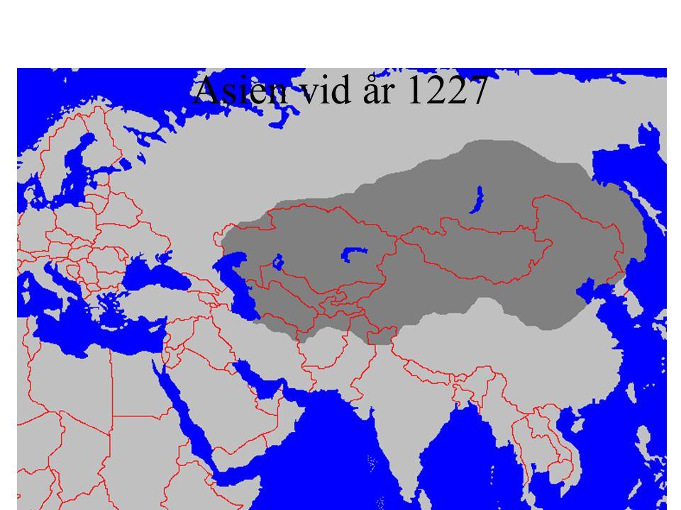 Asien vid år 1227