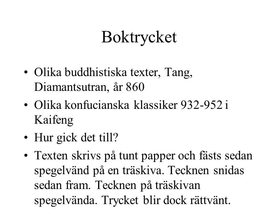 Boktrycket Olika buddhistiska texter, Tang, Diamantsutran, år 860