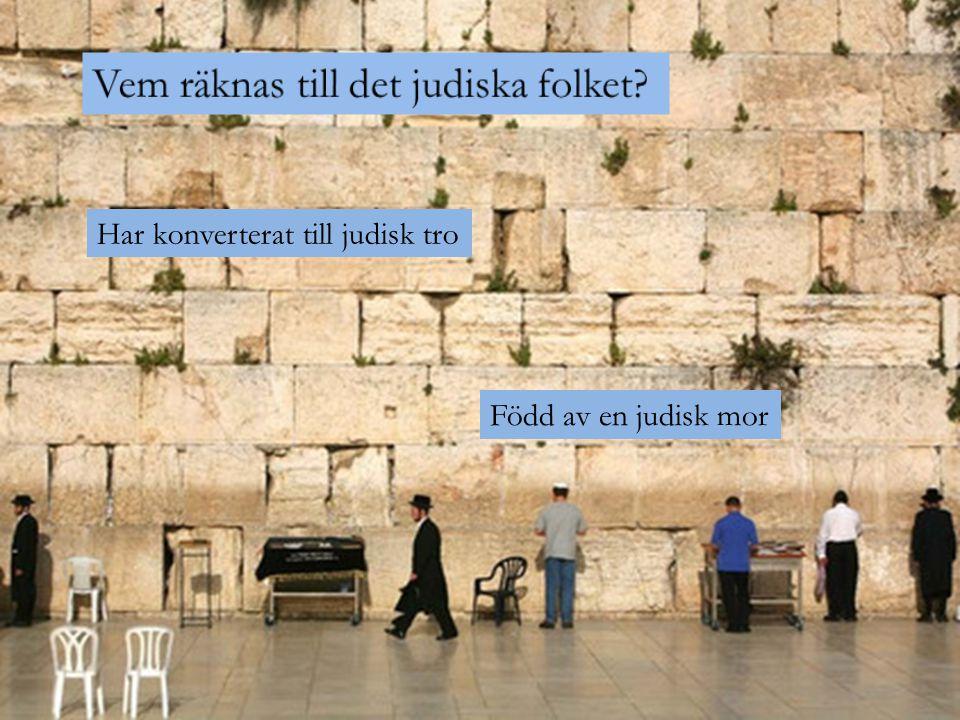 Vem räknas till det judiska folket