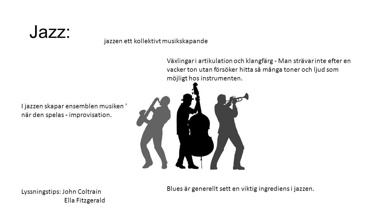 Jazz: jazzen ett kollektivt musikskapande