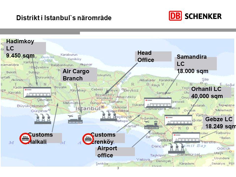 Distrikt i Istanbul`s närområde