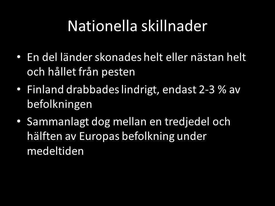 Nationella skillnader