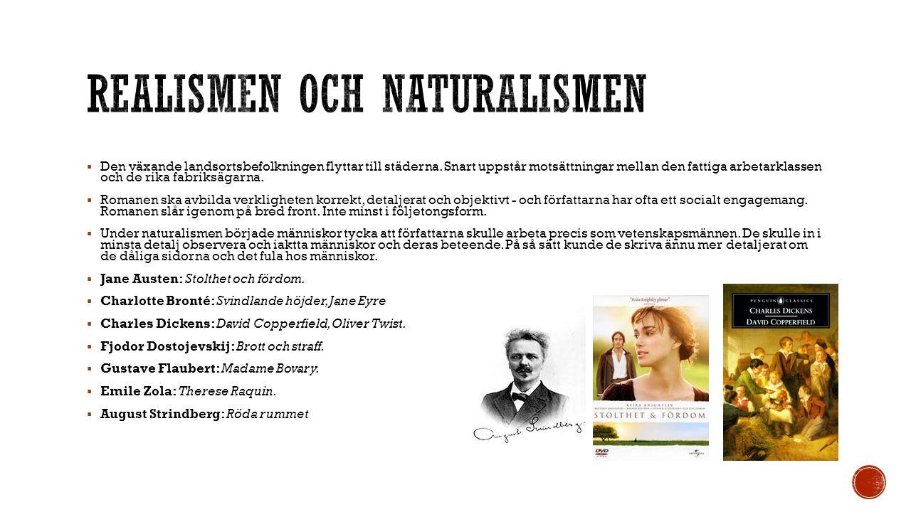 Realismen och naturalismen