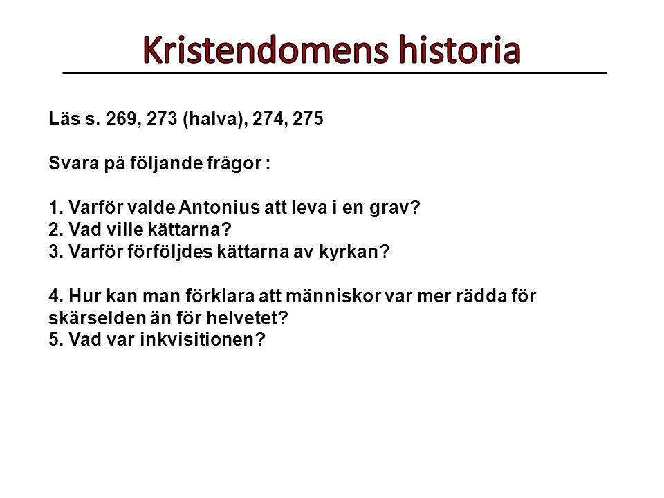 Kristendomens historia