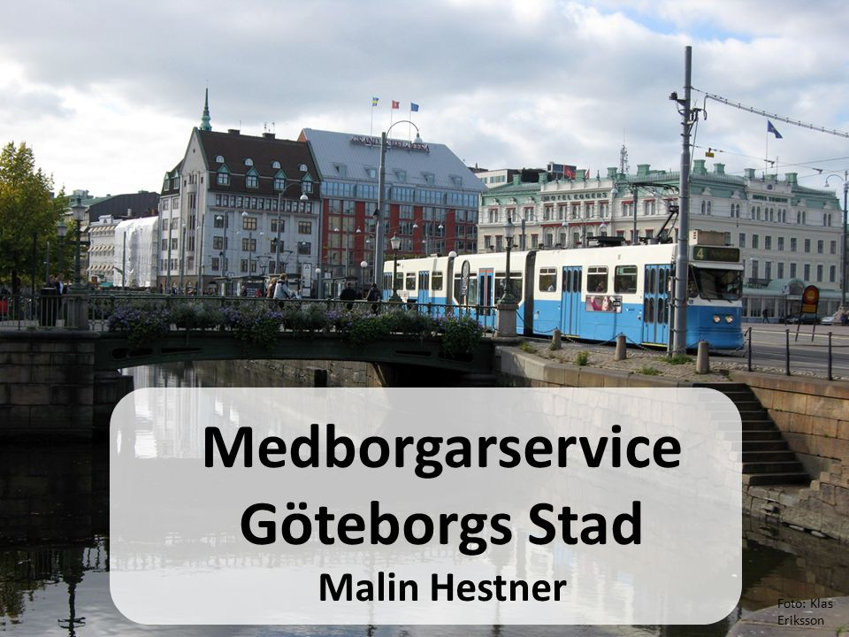 Medborgarservice Göteborgs Stad