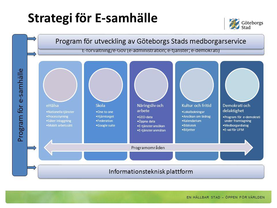 Strategi för E-samhälle