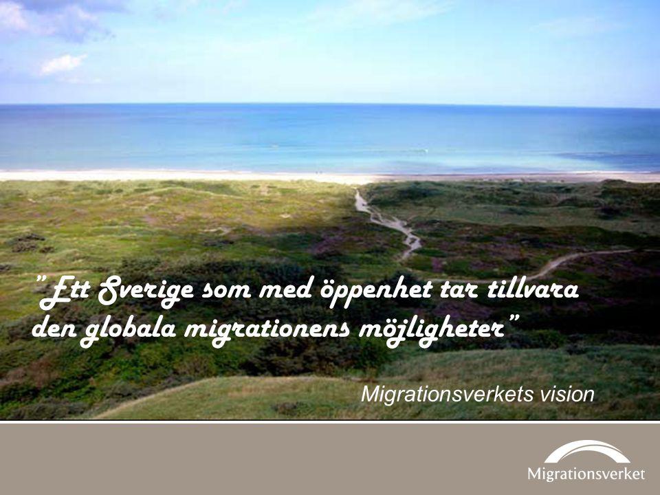 Ett Sverige som med öppenhet tar tillvara den globala migrationens möjligheter