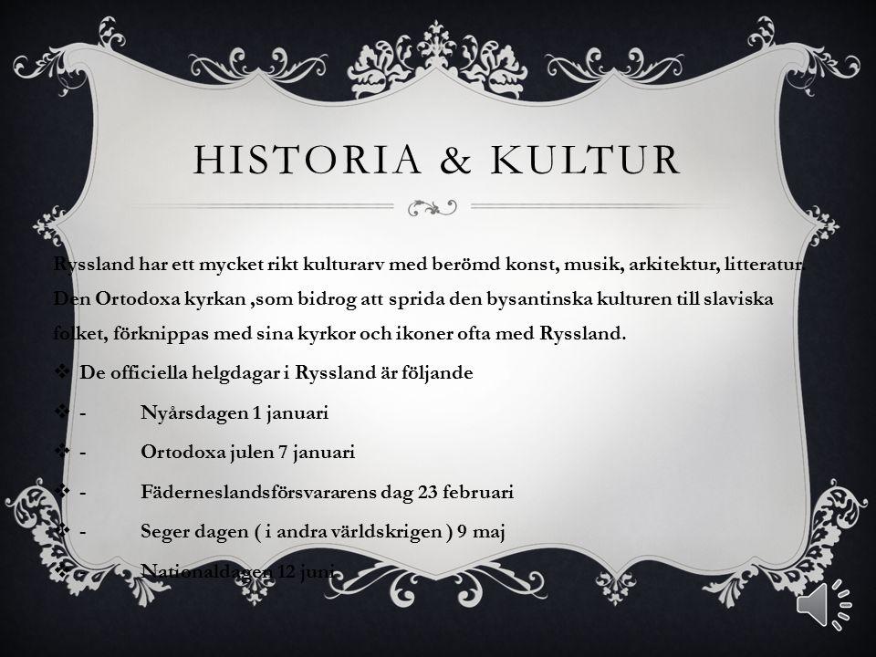 Historia & Kultur