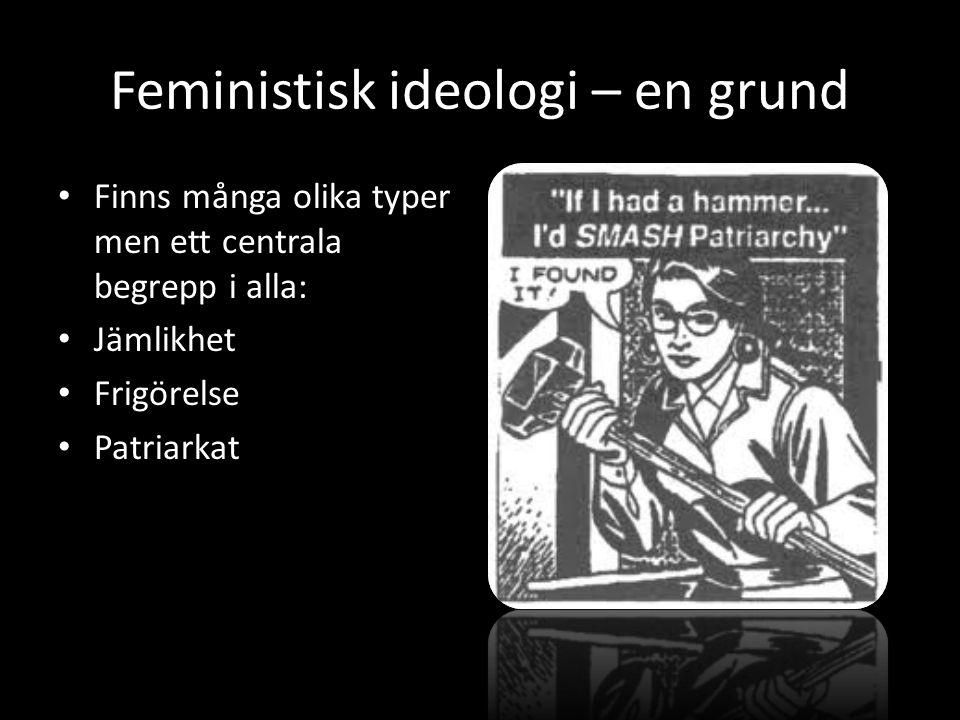 Feministisk ideologi – en grund