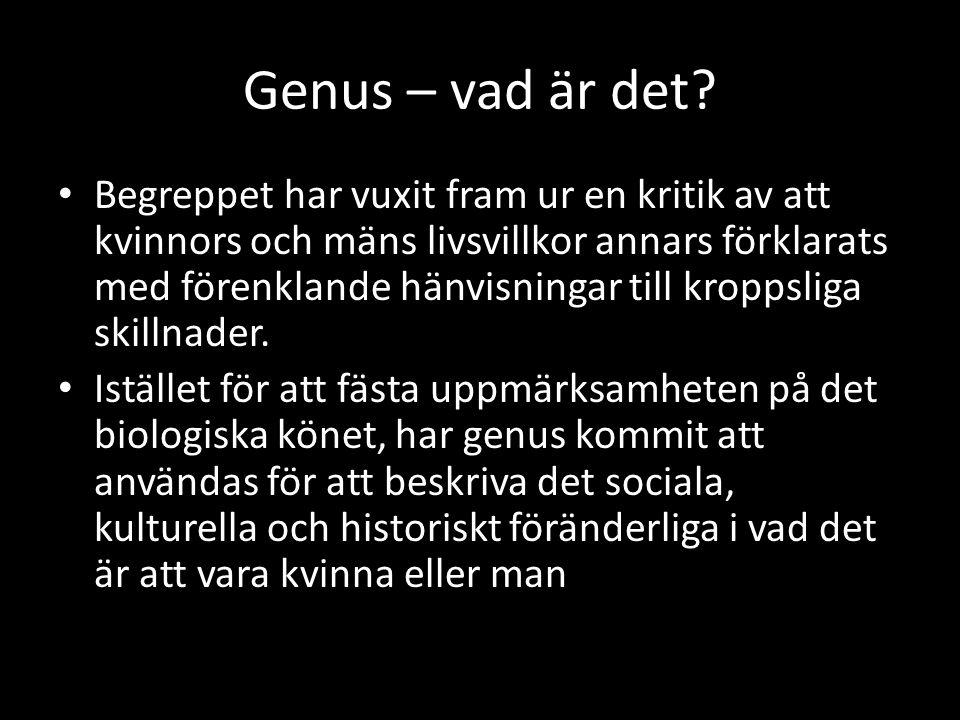 Genus – vad är det