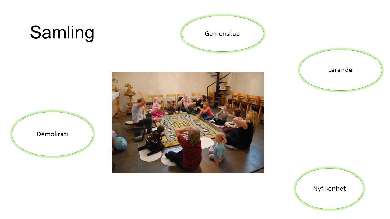 Samling Gemenskap Lärande Demokrati Nyfikenhet