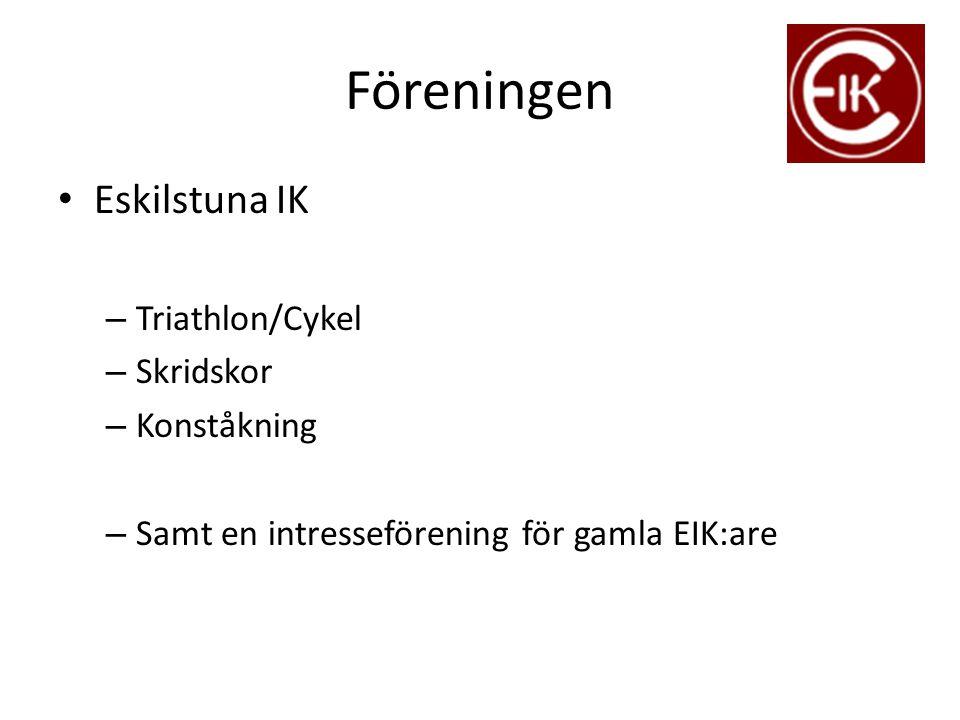Föreningen Eskilstuna IK Triathlon/Cykel Skridskor Konståkning