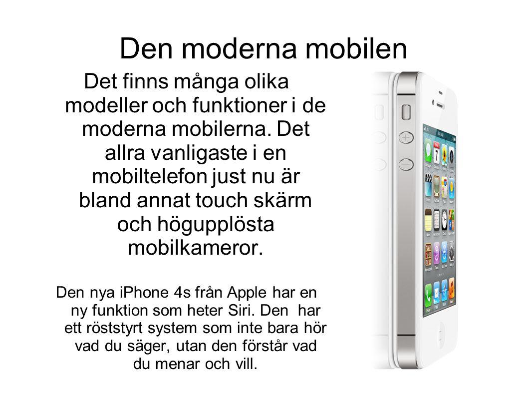 Den moderna mobilen