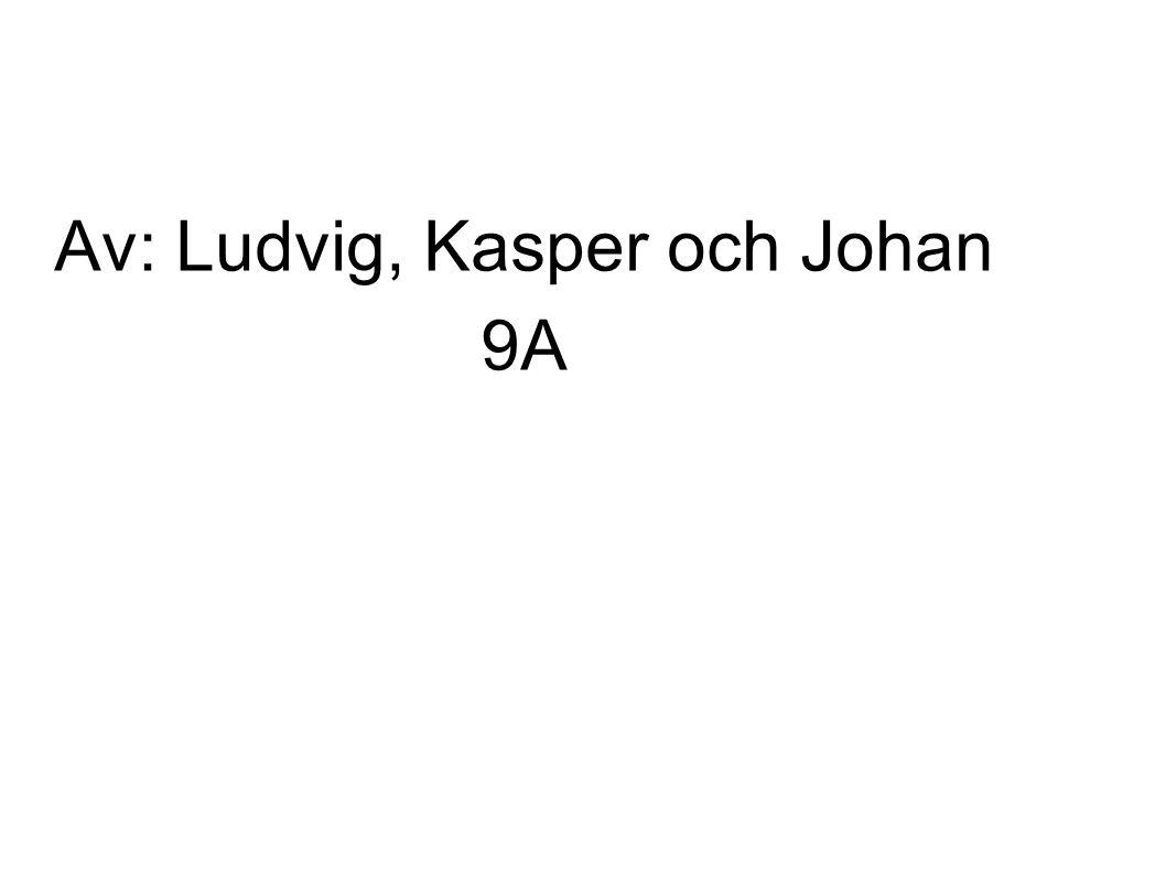 Av: Ludvig, Kasper och Johan