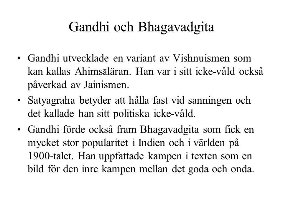 Gandhi och Bhagavadgita