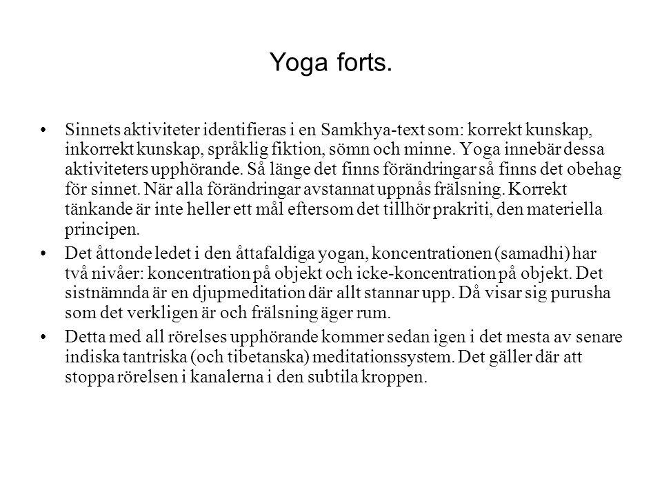Yoga forts.