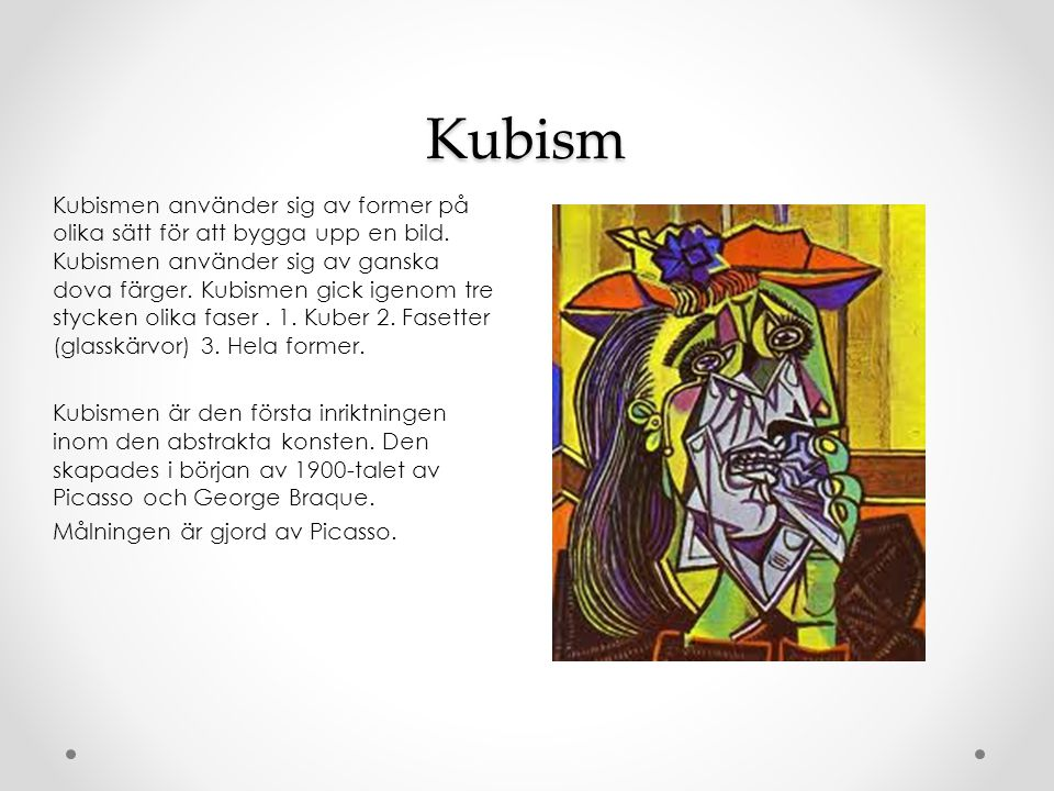 Kubism