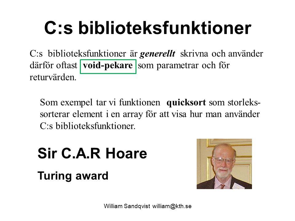 C:s biblioteksfunktioner
