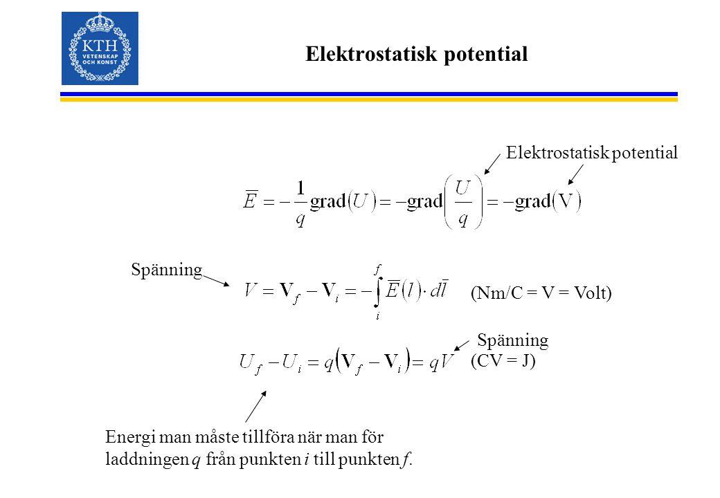 Elektrostatisk potential