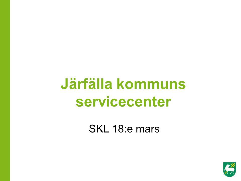 Järfälla kommuns servicecenter
