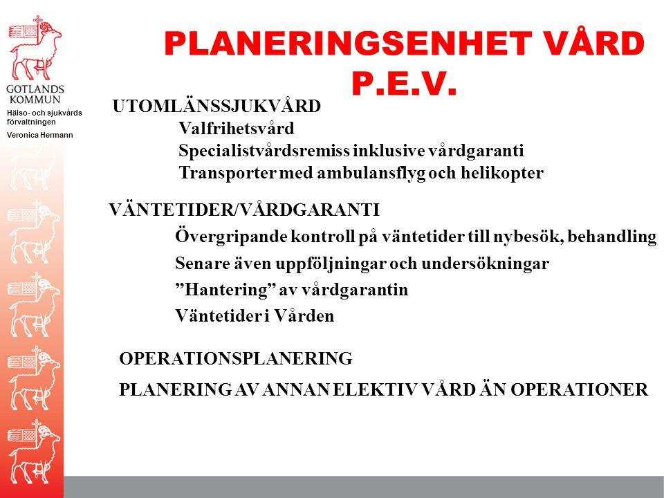 PLANERINGSENHET VÅRD P.E.V.