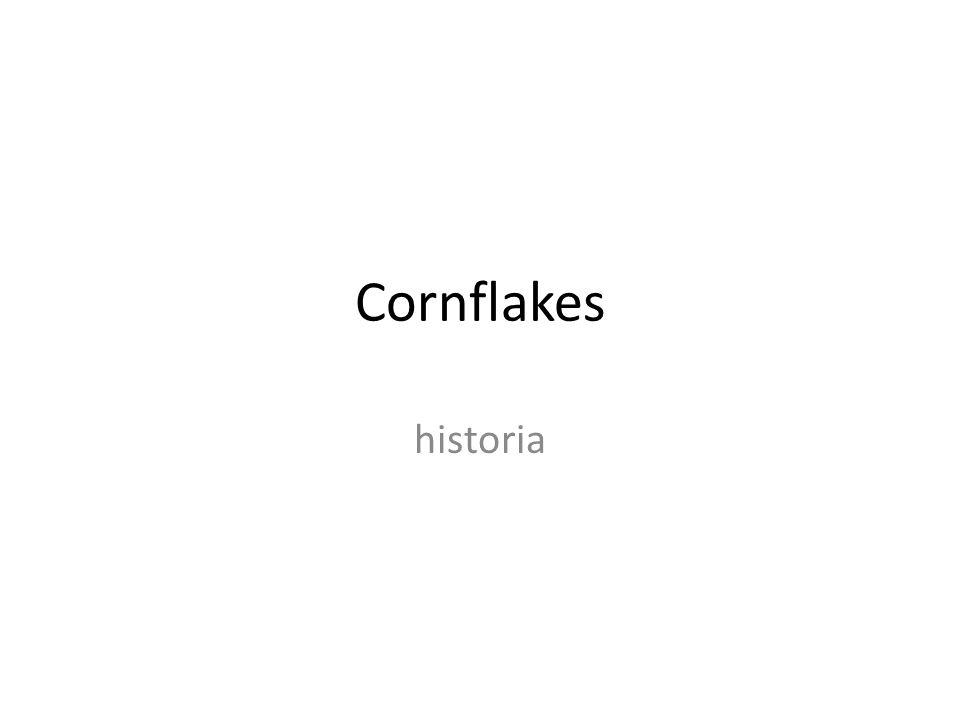 Cornflakes historia