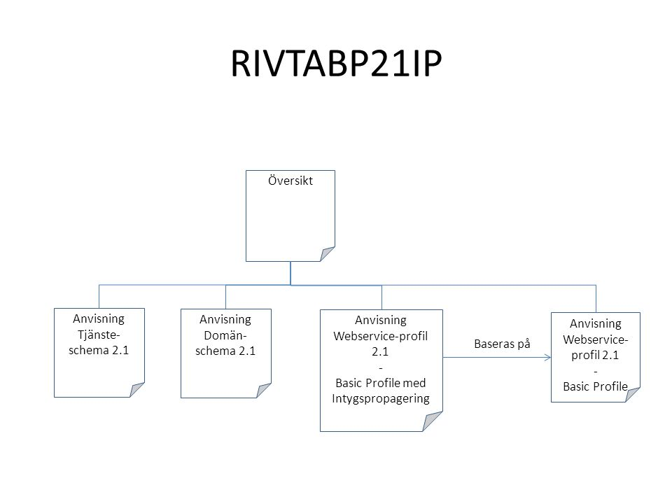 Anvisning Webservice-profil 2.1