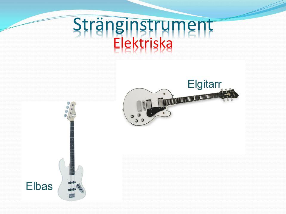 Stränginstrument Elektriska Elgitarr Elbas