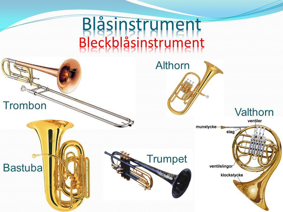Blåsinstrument Bleckblåsinstrument Althorn Trombon Valthorn Trumpet