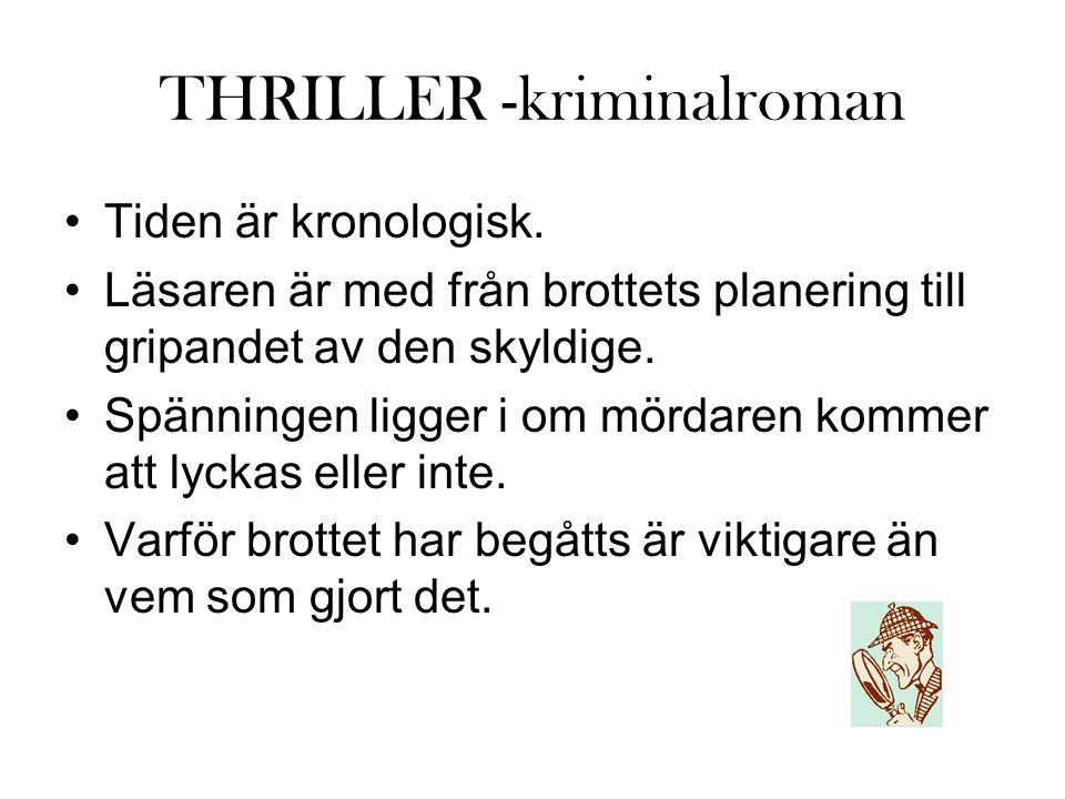 THRILLER -kriminalroman