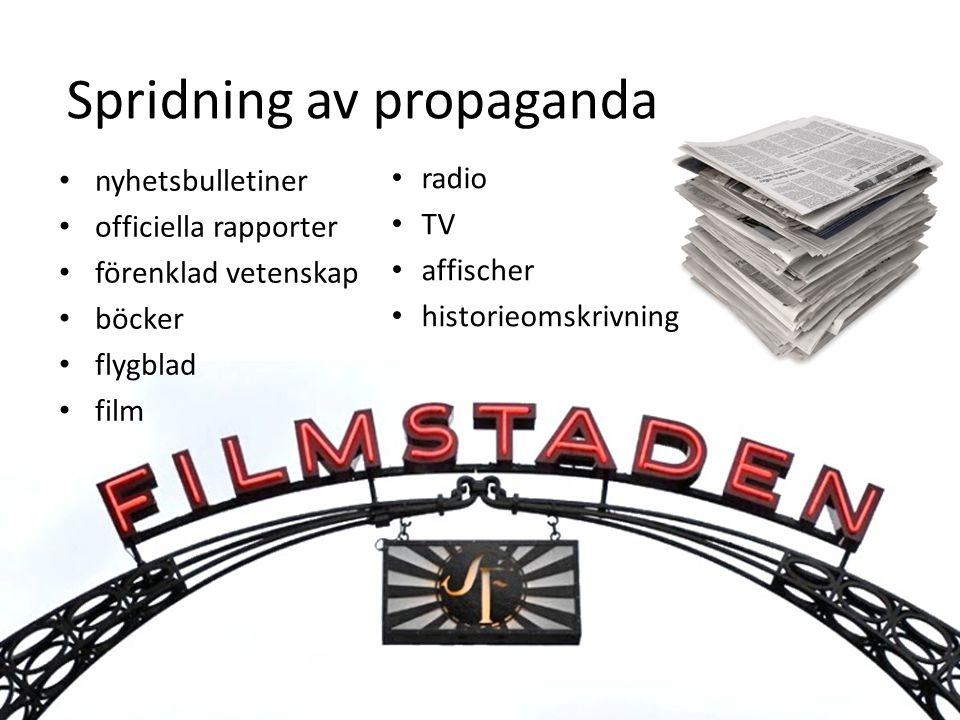 Spridning av propaganda
