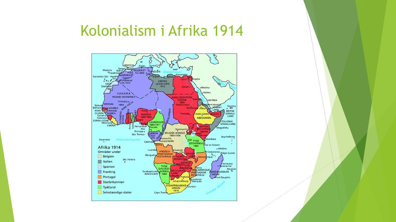 Kolonialism i Afrika 1914