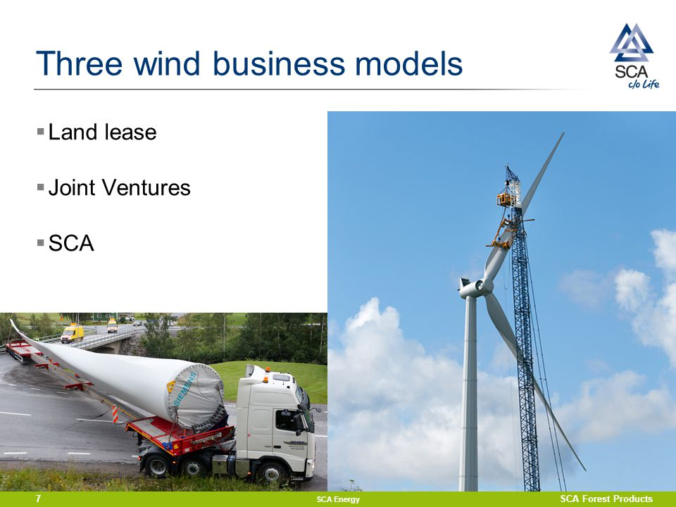 Three wind business models