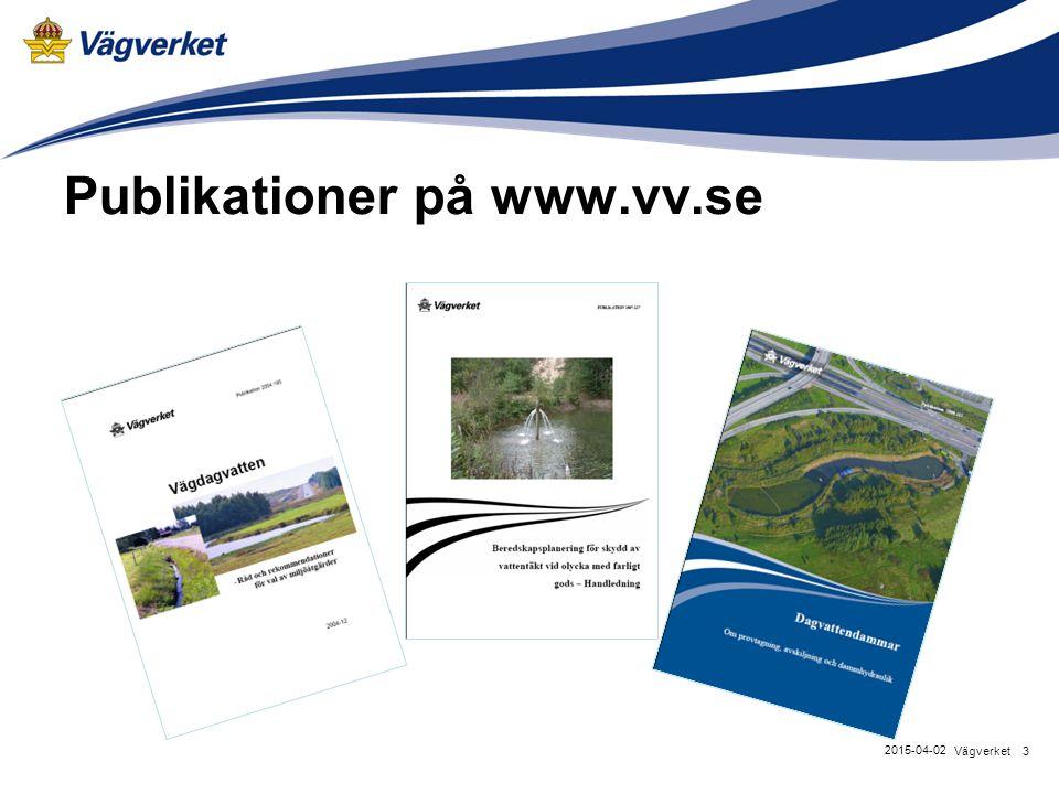 Publikationer på www.vv.se