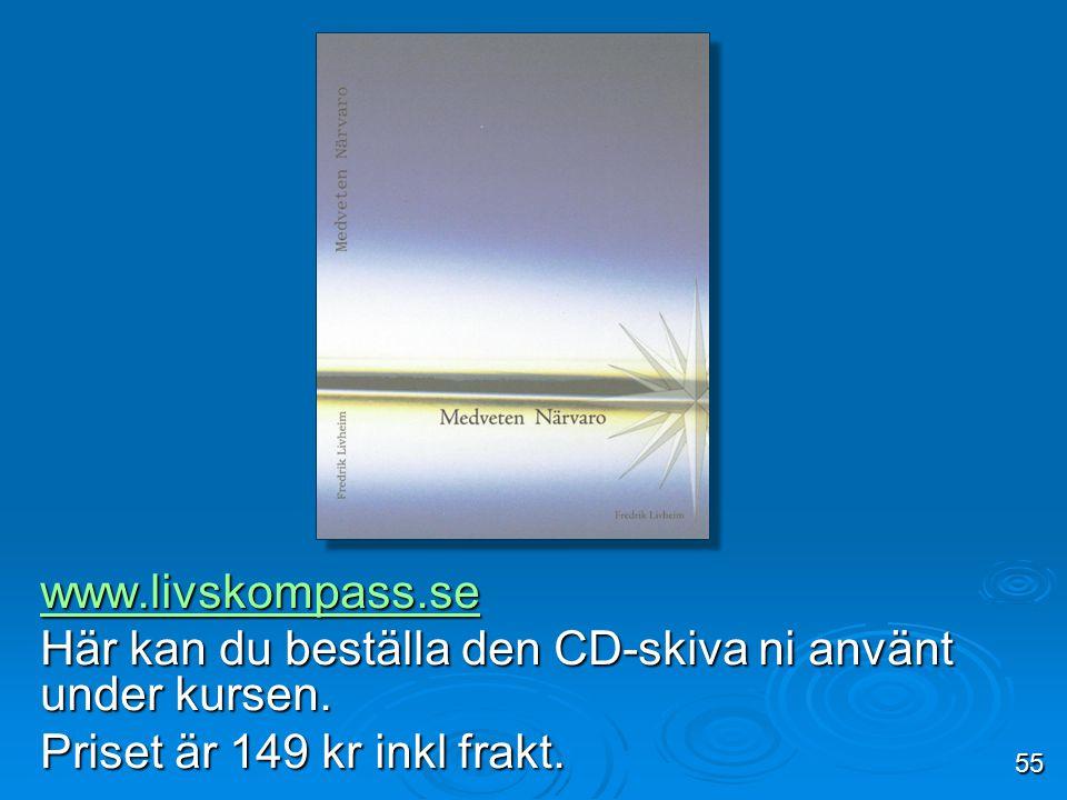 Här kan du beställa den CD-skiva ni använt under kursen.
