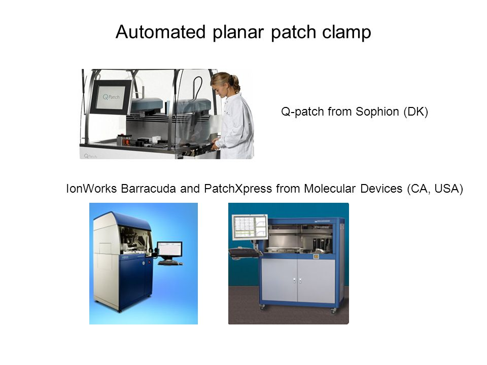 Automated planar patch clamp