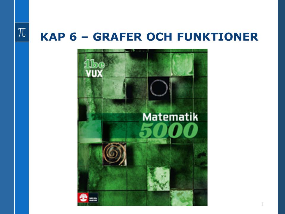 KAP 6 – GRAFER OCH FUNKTIONER