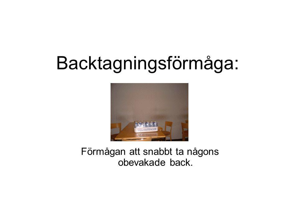 Backtagningsförmåga: