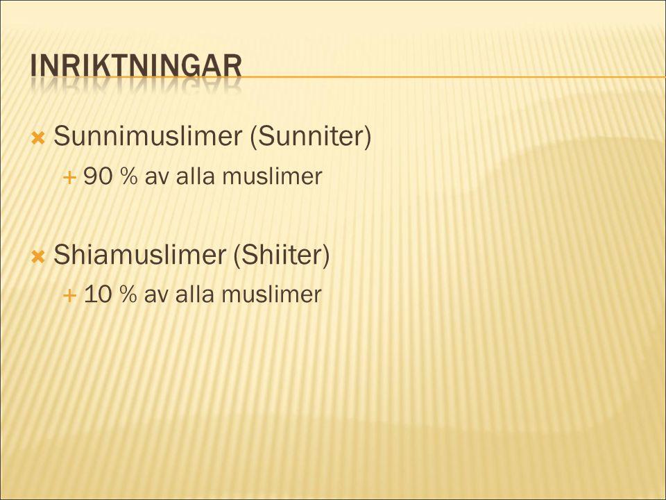 Sunnimuslimer (Sunniter)
