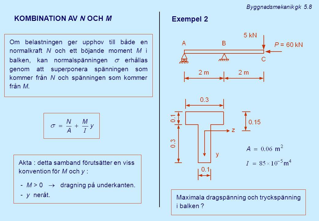 KOMBINATION AV N OCH M Exempel 2