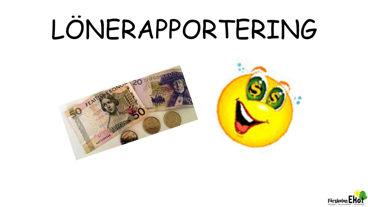 LÖNERAPPORTERING