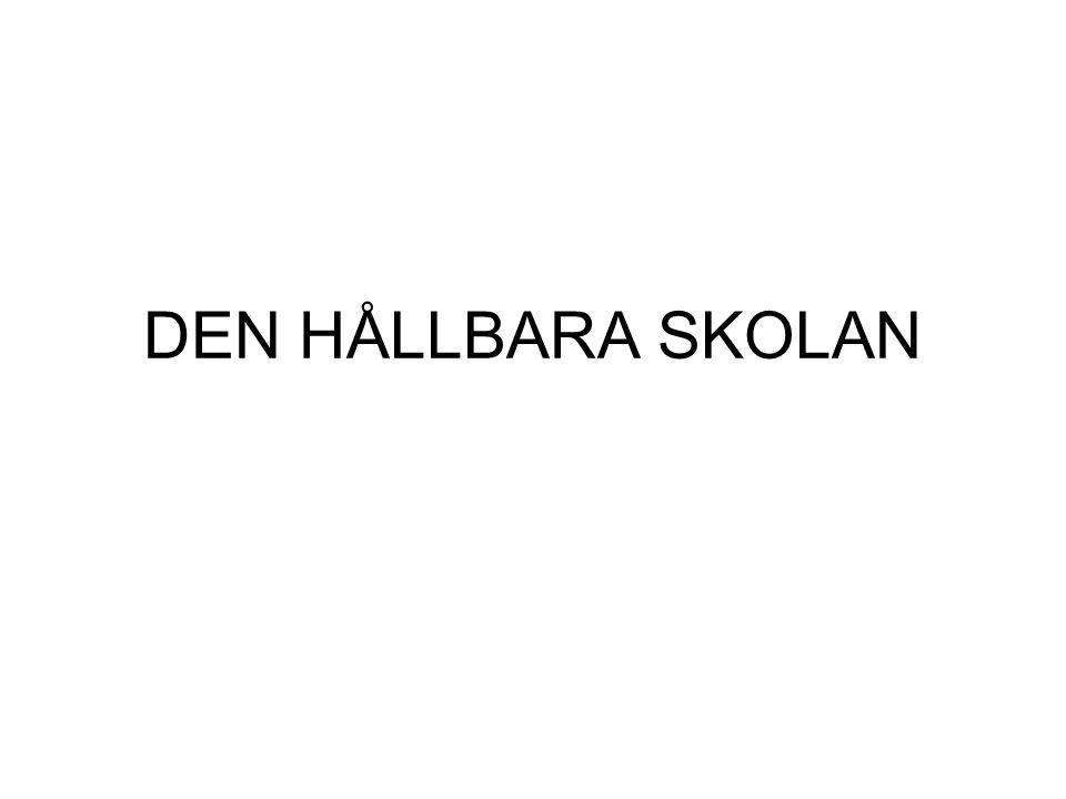DEN HÅLLBARA SKOLAN