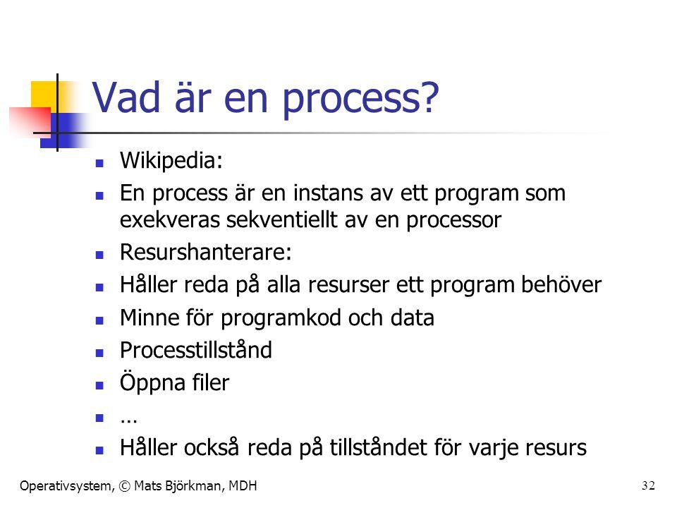 Vad är en process Wikipedia: