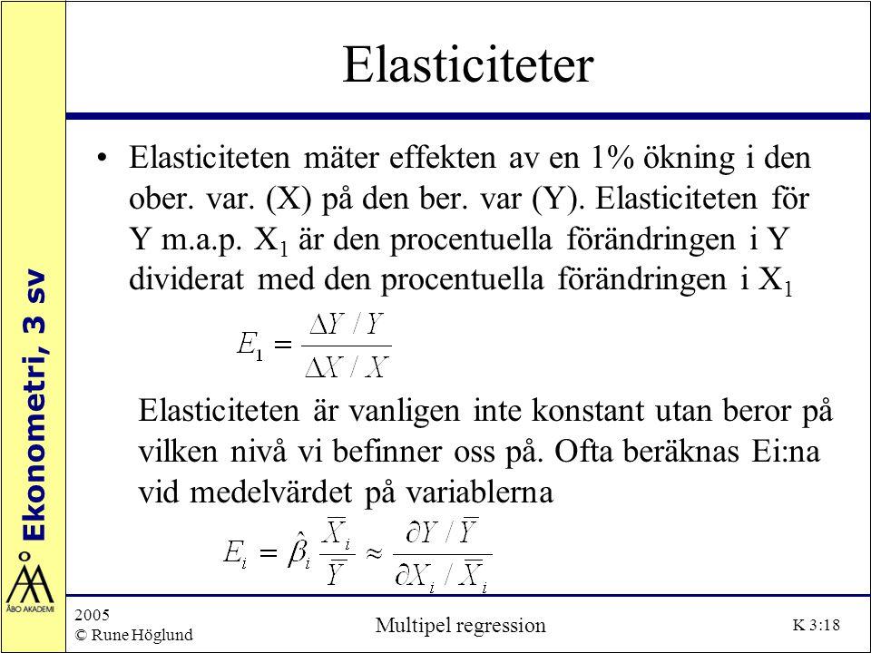 Elasticiteter